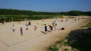 Foto van training Asser Beach Club aan de Baggelhuizerplas